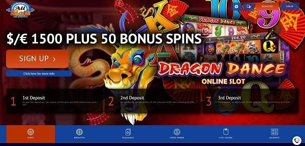 50 free spins on deposit - exclusive welcome bonus - Microgaming