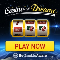 Casino of Dreams | 100 free spins and 1000 EUR free bonus | review