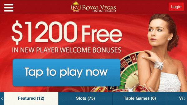 400% up to $1200 bonus on 4 deposits
