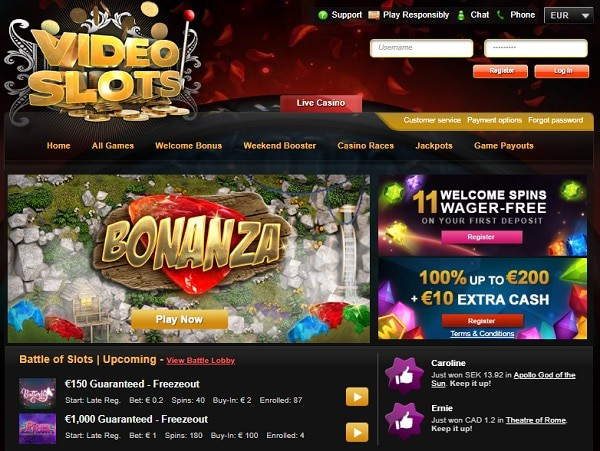 Video Slots Casino Review - all information from A to Z!