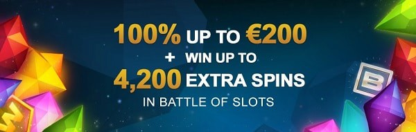 4,200 Extra Spins in Battle of Slots