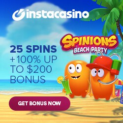 Insta Casino | 100 free spins and 250% up to £1000 bonus | review