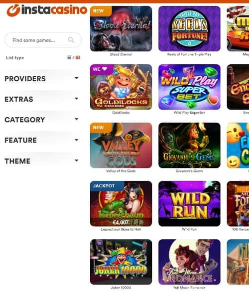 Insta Casino Review