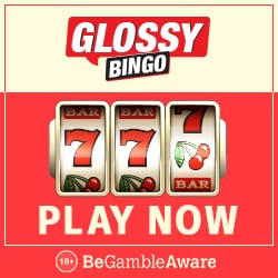 Glossy Bingo Casino | 60 free spins + 300% up to £300 bonus | review