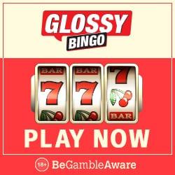 Glossy Bingo Casino   60 free spins + 300% up to £300 bonus   review