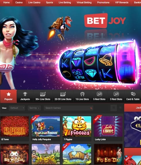 BetJoy Casino Review