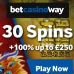 Betway Casino – 10 free spins on Wild Orient slot – no deposit bonus