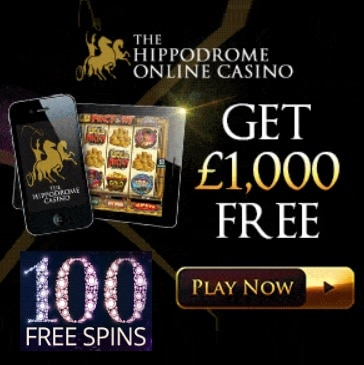 Hippodrome Online Casino - 25 free spins on Karaoke Party - ND bonus!