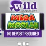 Wild Jackpots – €7.77 ND bonus and 1000 free spins on Mega Moolah