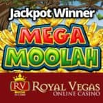 RoyalVegas Casino jackpot winner