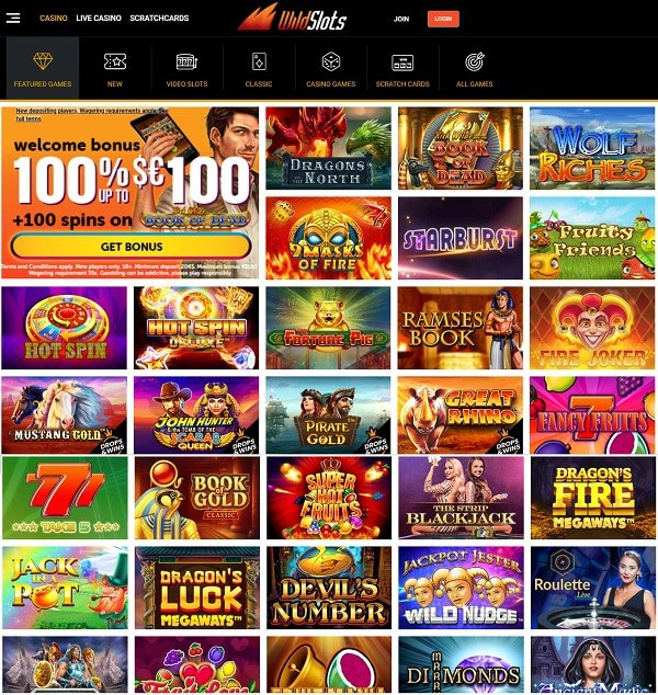 WildSlots Review