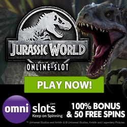 Omni Slots Casino - 50 free spins and 100% up to €300 welcome bonus