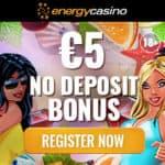EnergyCasino free spins bonus