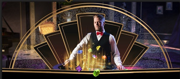 Games, Live Dealer, Jackpots