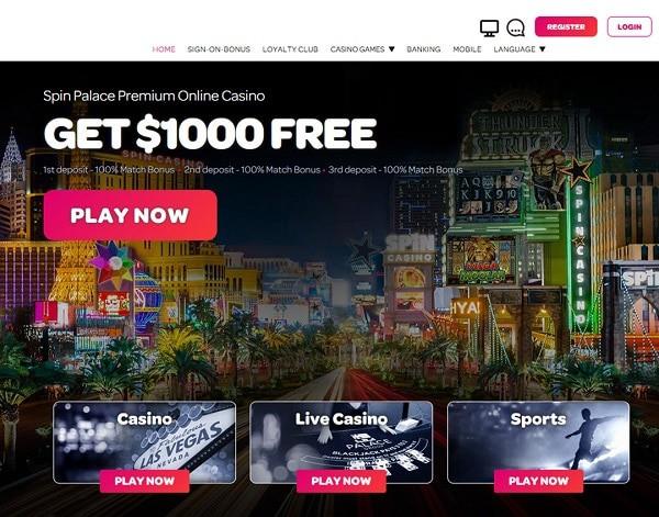 Spin Palace Casino Free Spins Bonus