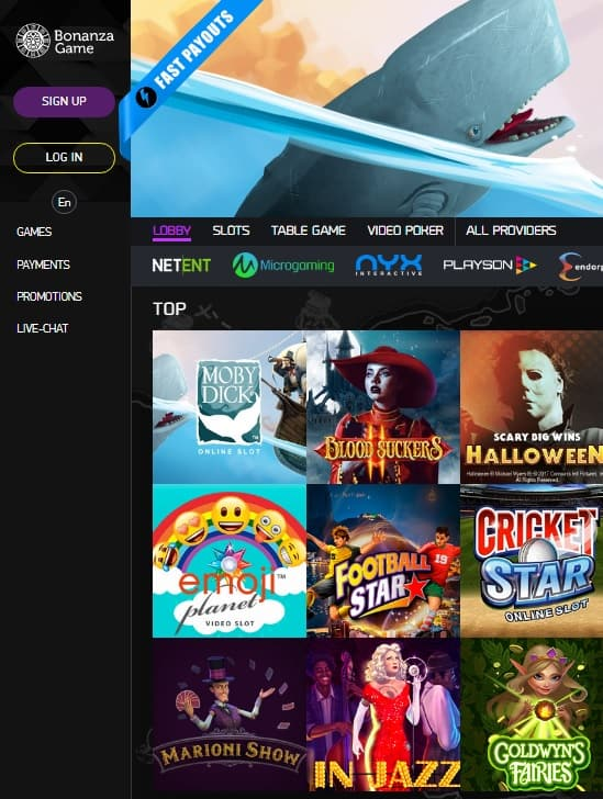 Bonanza Game Online Casino Review
