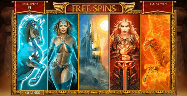 Forbidden Throne free spins bonus