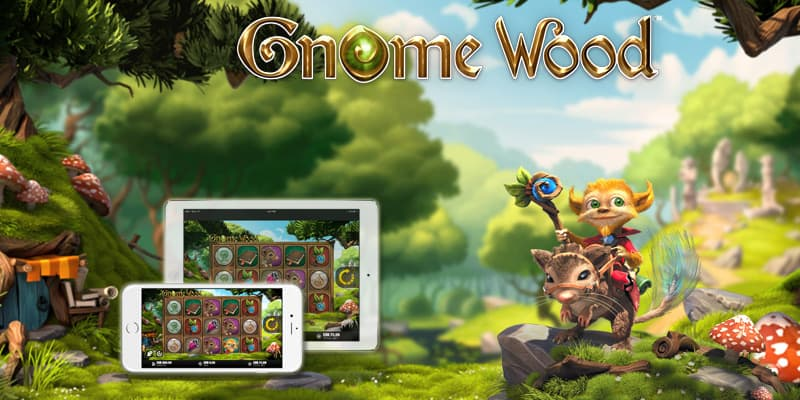 Gnome Wood slot game - 10 Freepin Bonus, Scatters & Gamble feature