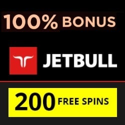 Jetbull Casino | 200 free spins + 100% up to €1500 free bonus | Review