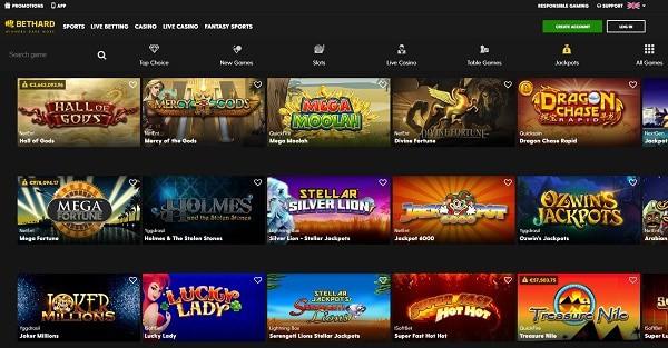 Bethard Casino and Sports (Zlatan Ibrahimovic) - exclusive bonus, promotions, free spins