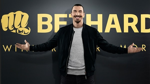 Zlatan Ibrahimovic promotion, TV ads, bonuses