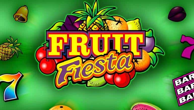 Fruit Fiesta jackpot slot game - play with free bonus and win mega big!