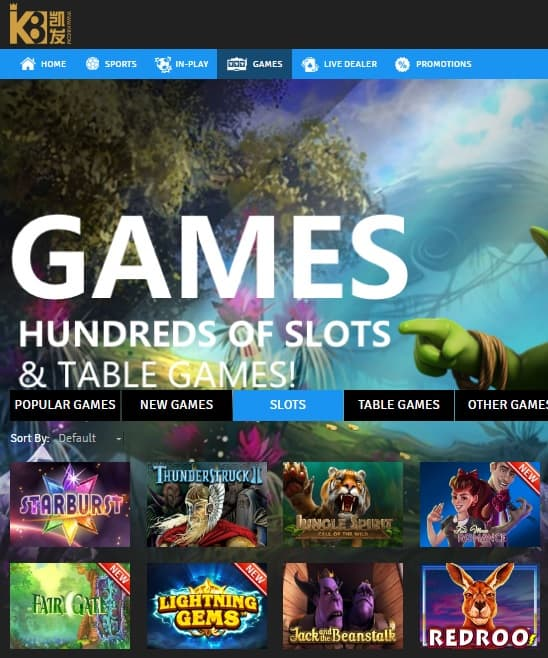 K8 Casino - the best slots and live casino