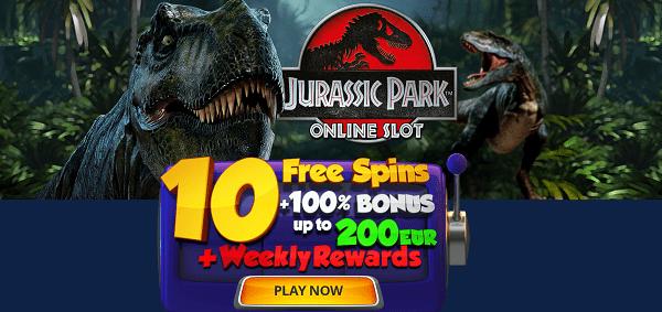 10 free spins sign-up bonus
