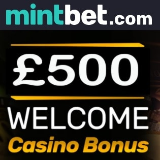 Mintbet Casino   100% up to £500 bonus and free spins - UK   Review