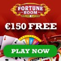 Fortune Room Casino 100 free spins and 100% welcome bonus