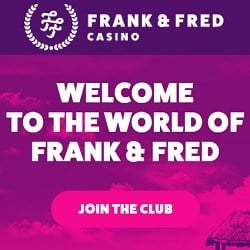 Frank Fred Casino Online Slots, Table Games, Live Casino