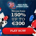 Piggs Peak Casino 150% bonus and 100 free spins