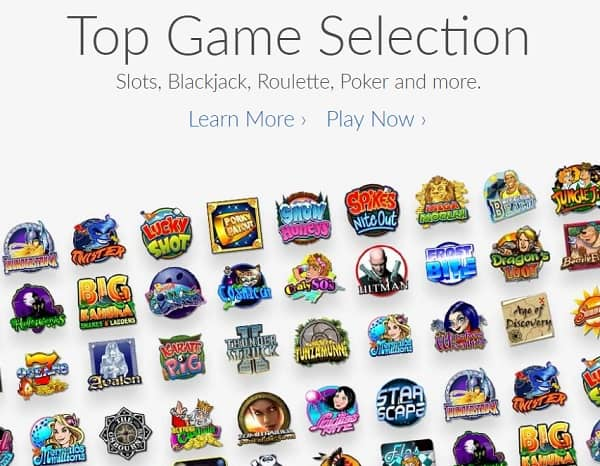 Ruby Fortune Casino games and software