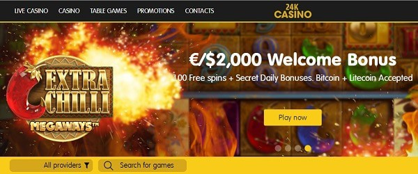 24K free bonus and gratis spins