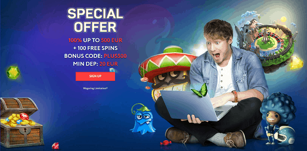 SPECIAL WELCOME OFFER