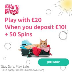 Deposit 10 and play with 20 GBP and 50 free spins!