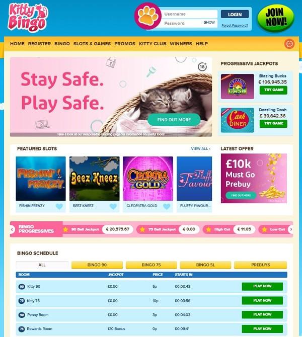 Kitty Casino Free Bonus