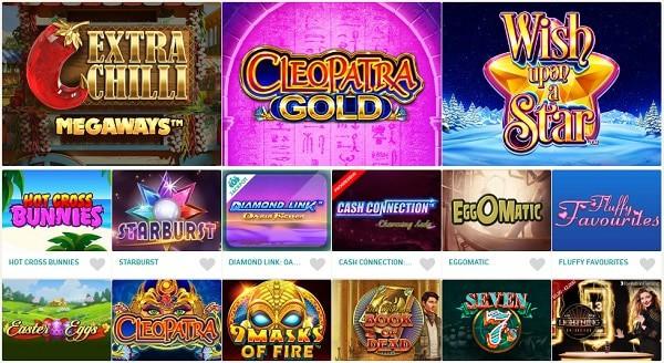 Games and Live Dealer