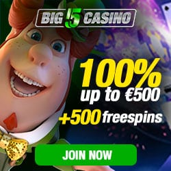 500 free spins and 500 EUR welcome bonus | Review