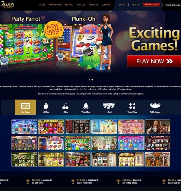 24 VIP Casino Review