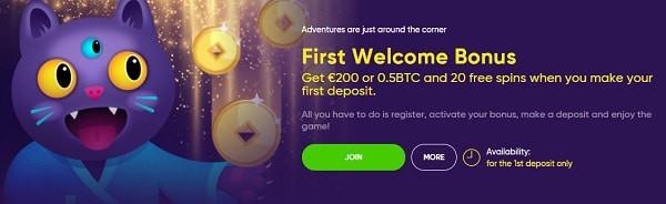 Bao Welcome Bonus