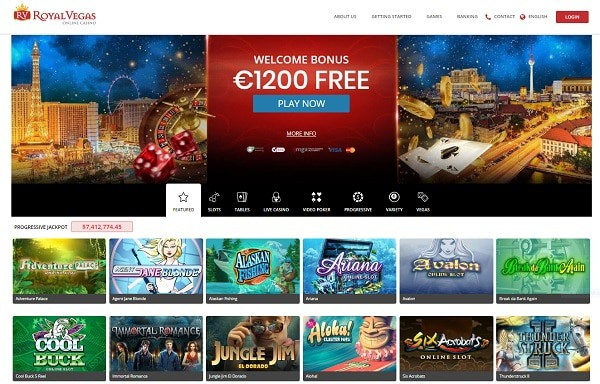Royal Vegas Online Review