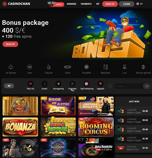 Casino Chan Review