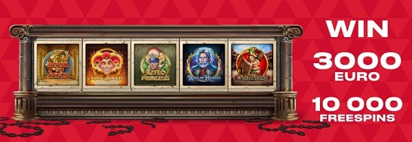 FAVBET Casino free spins and no deposit bonus