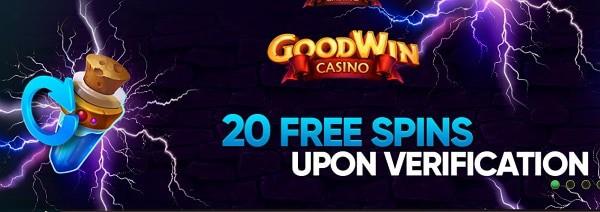 20 gratis spins on sign-up