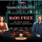 Play 30 free spins on Immortal Romance at JackpotCityCasino.com