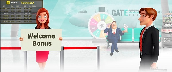 Collect your welcome bonus to Gate777.com!
