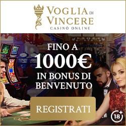 VogliadiVincere.com | €1000 Gratis Welcome Bonus | Review