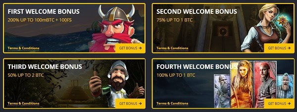 Exclusive promotions for new players