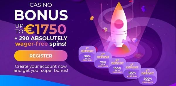 Claim free bonuses!